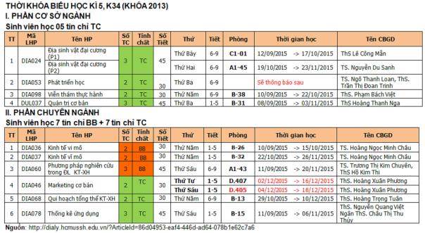 TKB HK5, K34 (khoa2013)